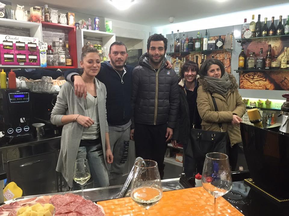 Danilo Petrucci al bar FuoriOrario