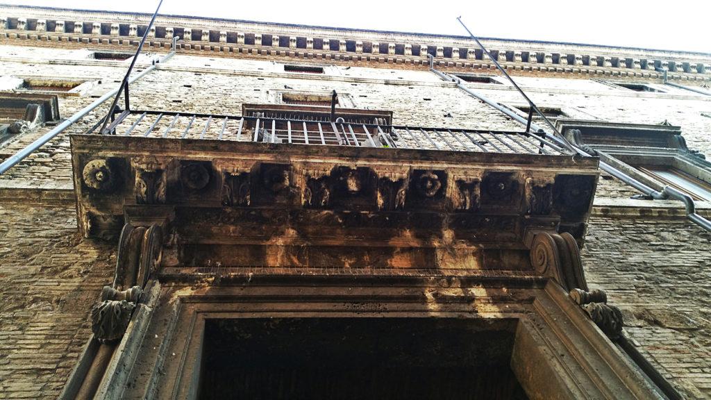 Facciata originaria Palazzo Spada