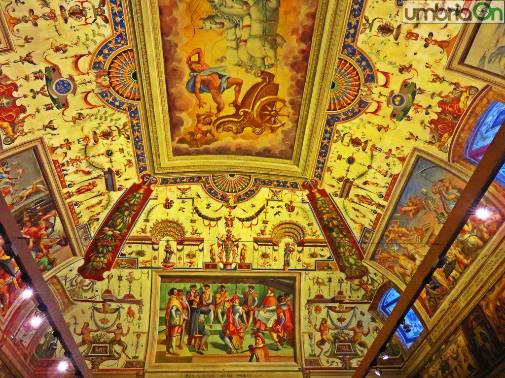 Affreschi sala consiliare Palazzo Spada