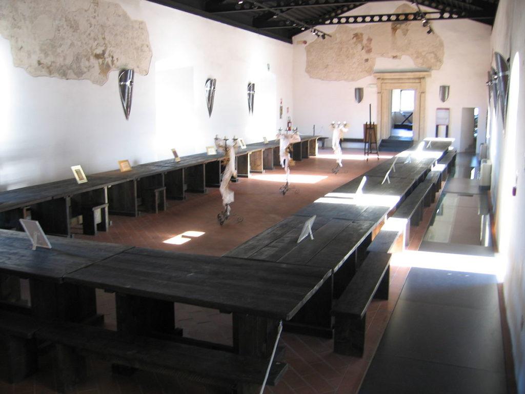 Interni del Museo nella Rocca di Narni