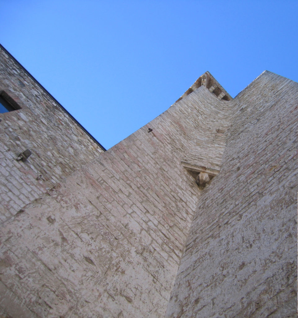 La torre della Rocca di Albornoz di Narni