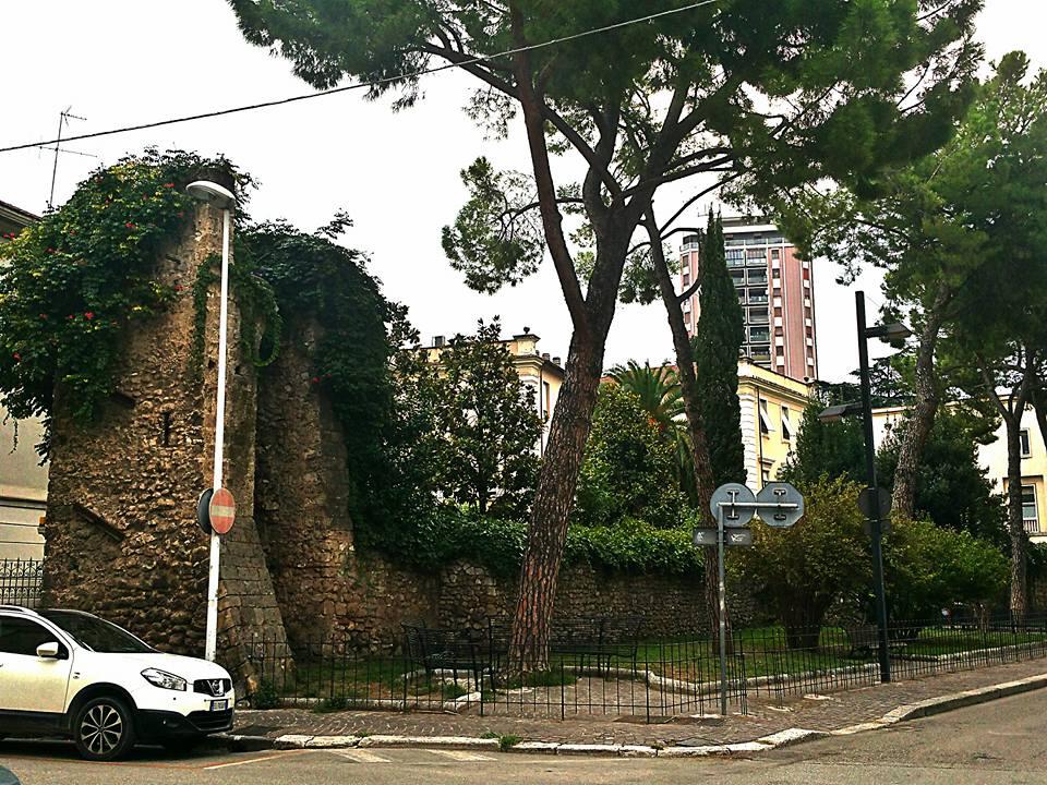 Porzione delle antiche mura di cinta di Terni