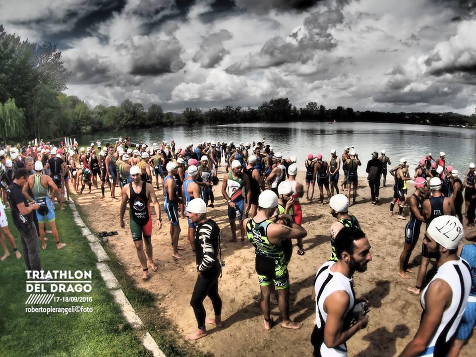 Triathlon del Drago (foto di Roberto Pierangeli)