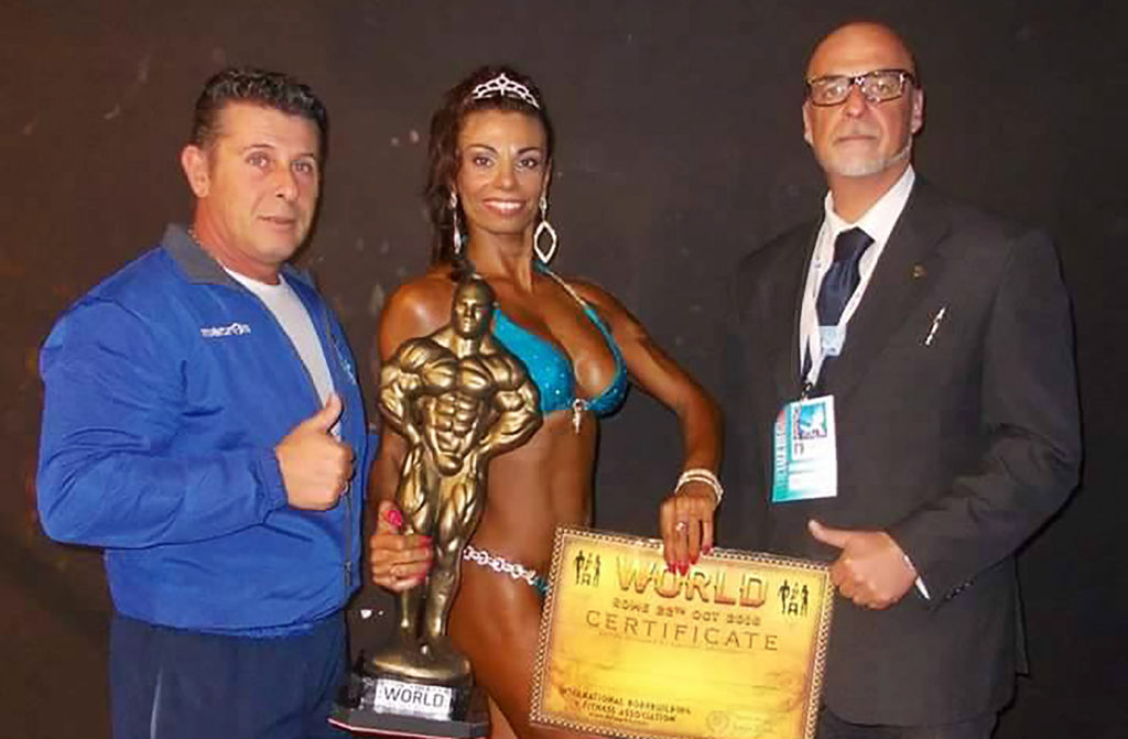 Luigia Baggetta Campionessa Mondiale IBFA Bikini Over 35