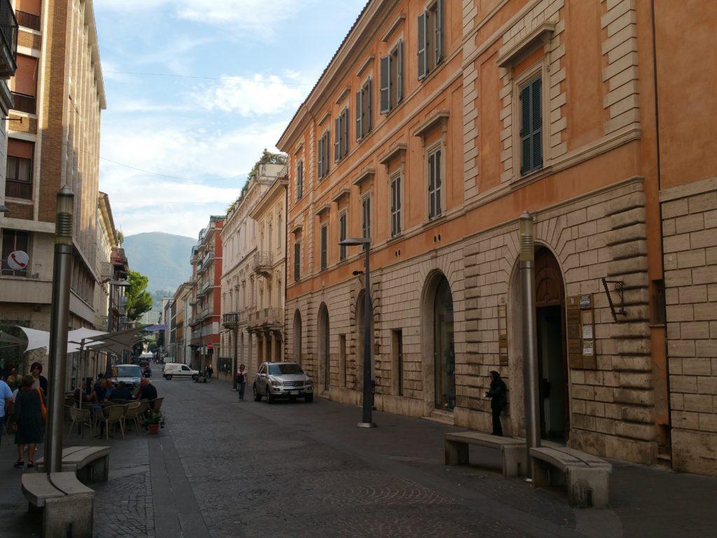 Terni - Corso Cornelio Tacito (Ph. Massimo Santafè)