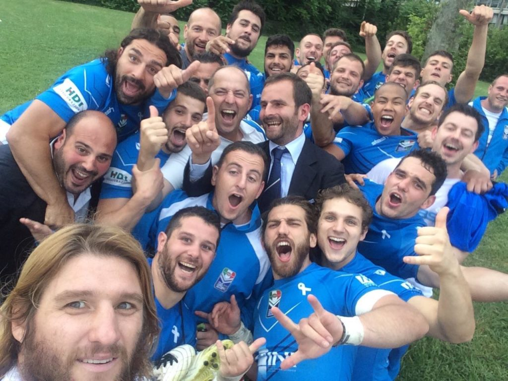 Francesco Giorgini e la Lega Italiana Rugby Football League