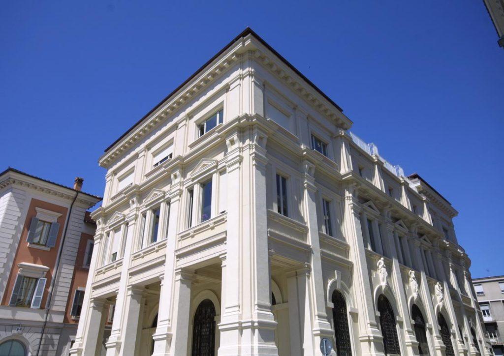 Palazzo Bazzani sede di PagineSì
