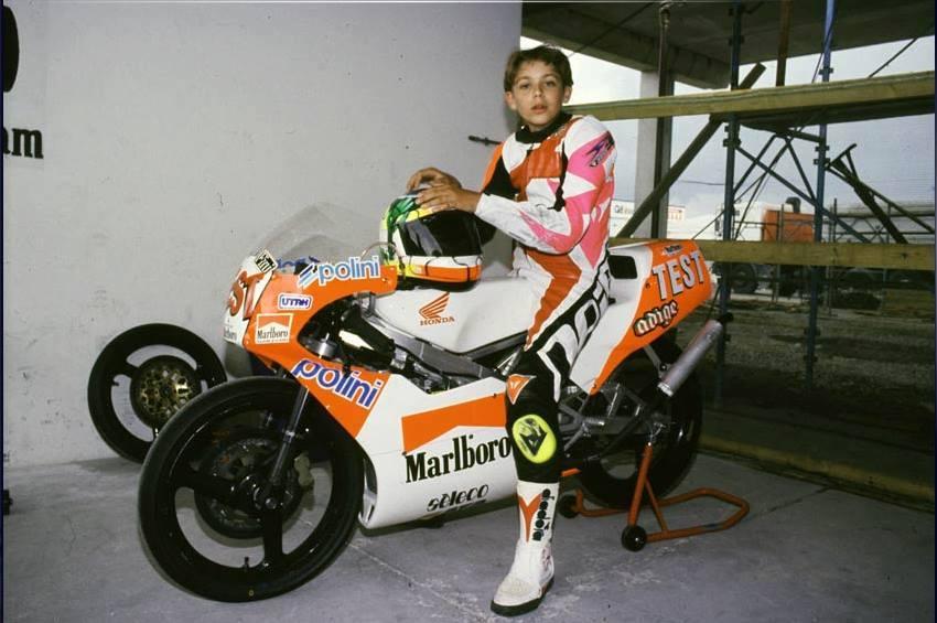 La prima volta di Valentino Rossi (Foto di Francesco Pileri)