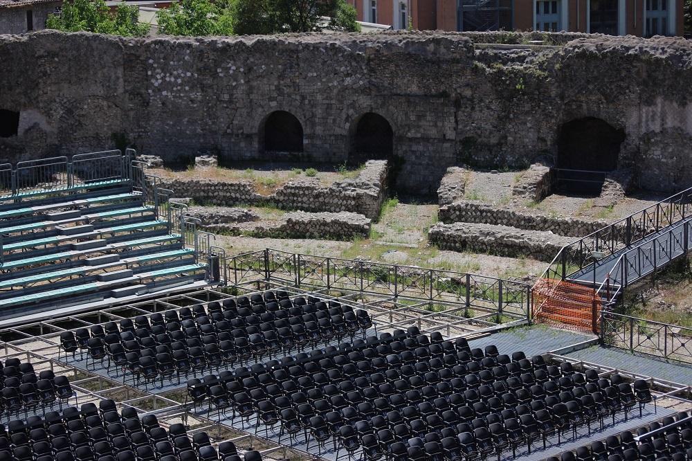 Anfiteatro Fausto di Terni (foto di Umbria24)