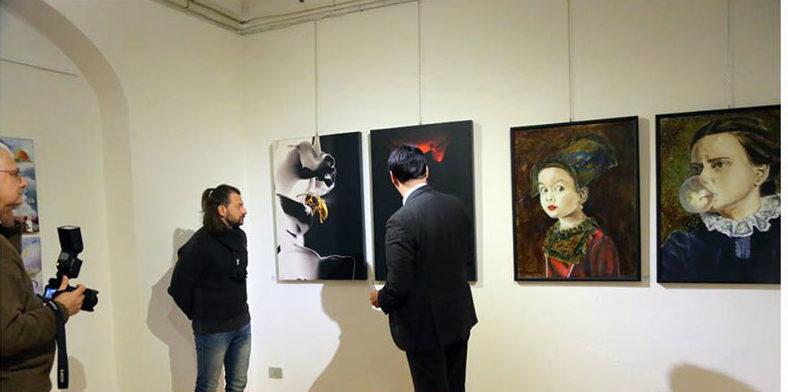 Esposizione di Luca Marchetti