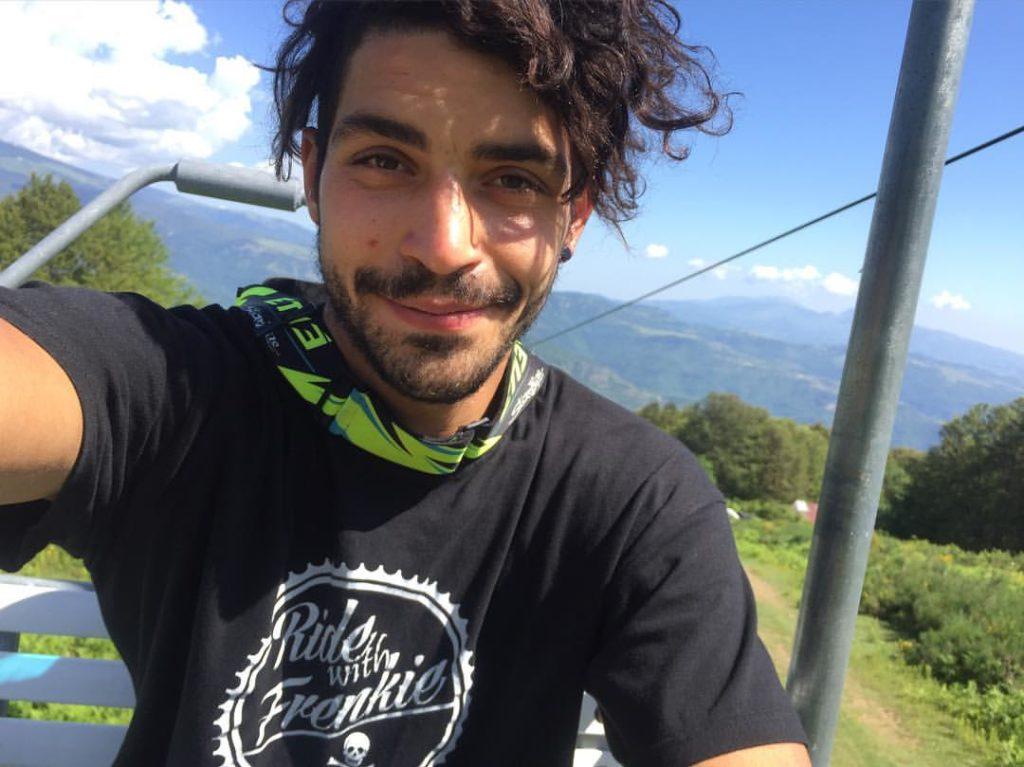 Francesco Petrucci Campione Italiano Downhill 2016