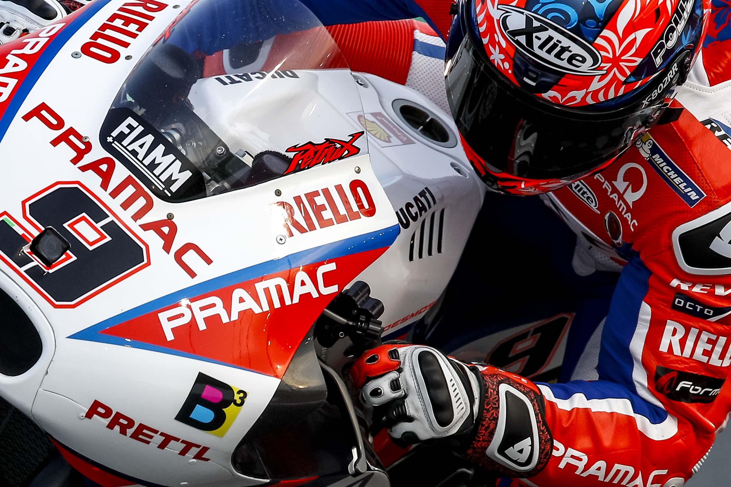 Danilo Petrucci (Foto di pramacracing.com)