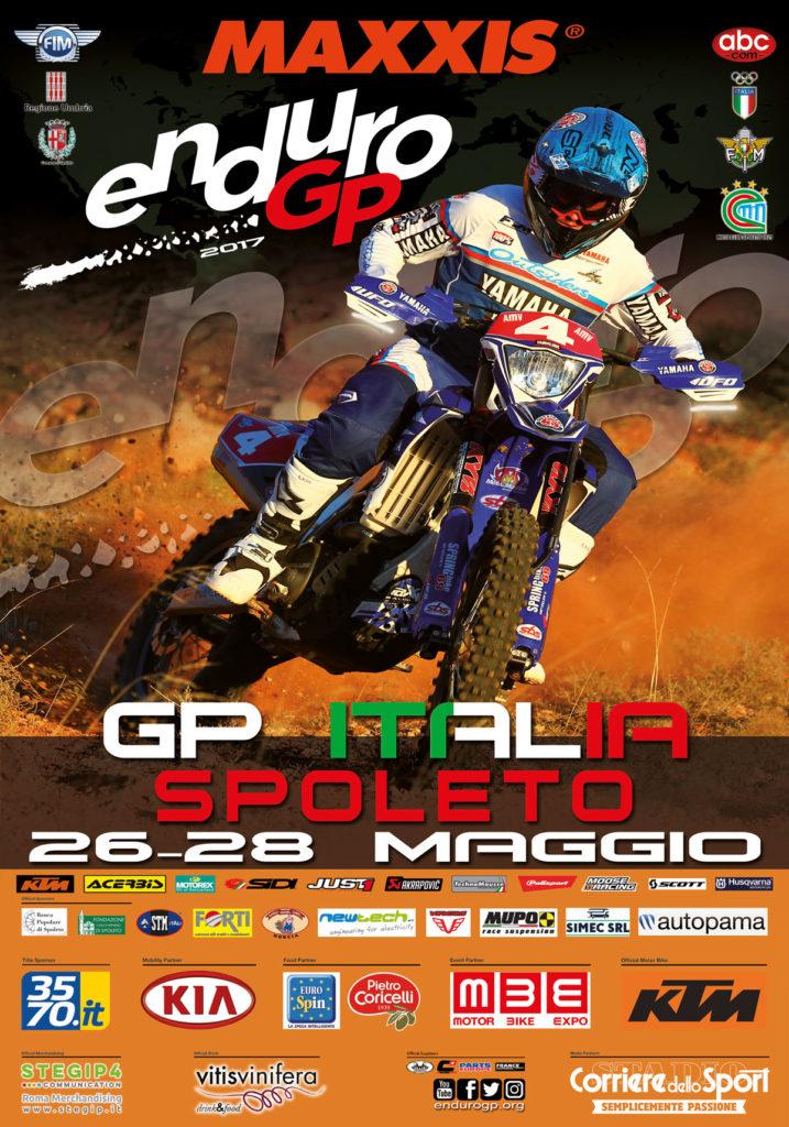Manifesto GP Italia Spoleto (Foto di italianoenduro.com)
