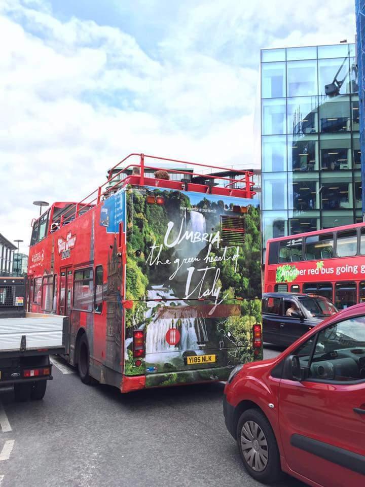 Promozione turismo Umbria a Londra
