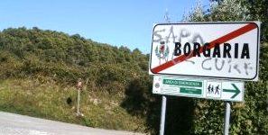Cartellonistica stradale Borgaria (Foto di umbriasud.altervista.org)