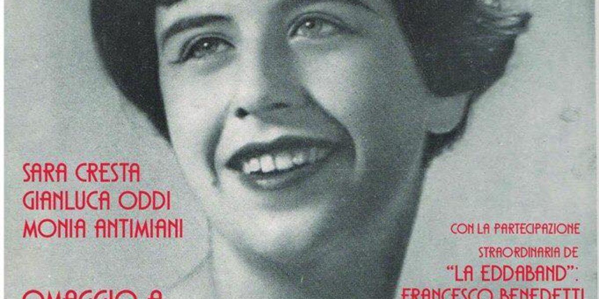 Omaggio a Edda Galeazzi - Locandina