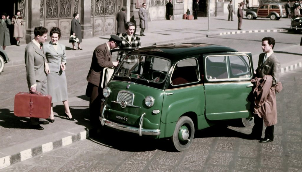 Fiat 600 Multipla (Foto di quartamarcia.it)