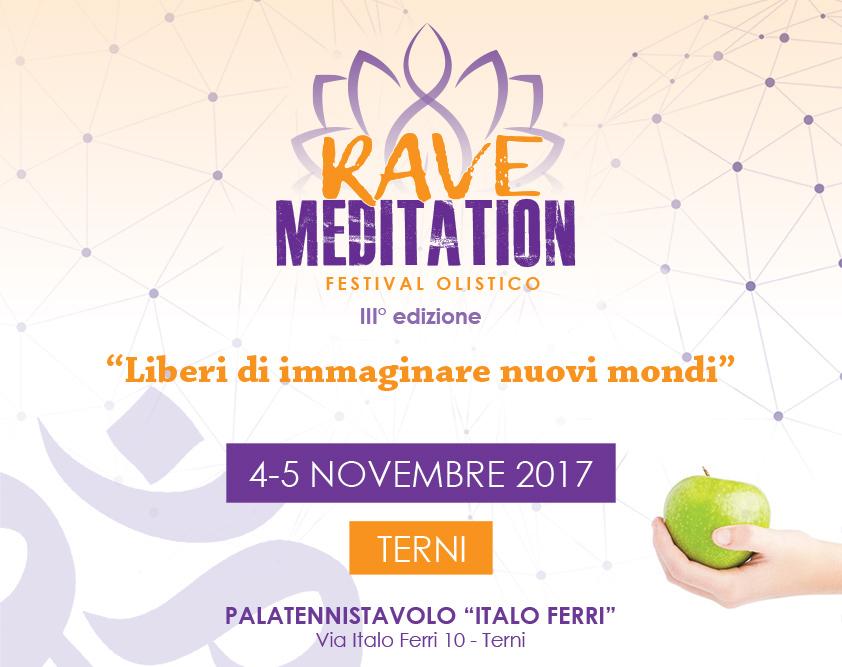Locandina Rave Meditation (Foto di ravemeditation.com)
