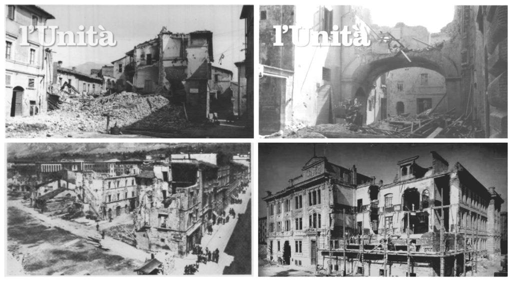 Bombardamenti Terni (Foto di Ternioggi.it, Umbriasud.com e igiornielenotti.it)