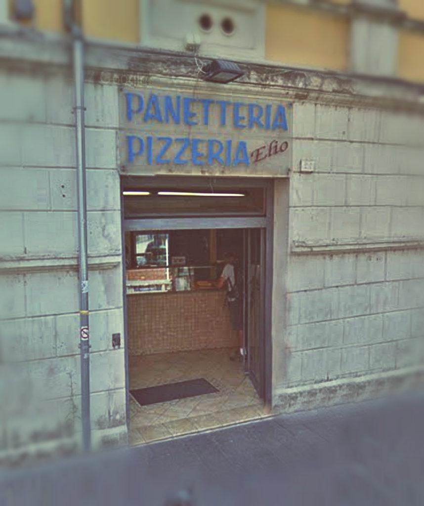 Pizzeria Elio, Piazza Solferino - Terni (Foto di Massimo Santafè)