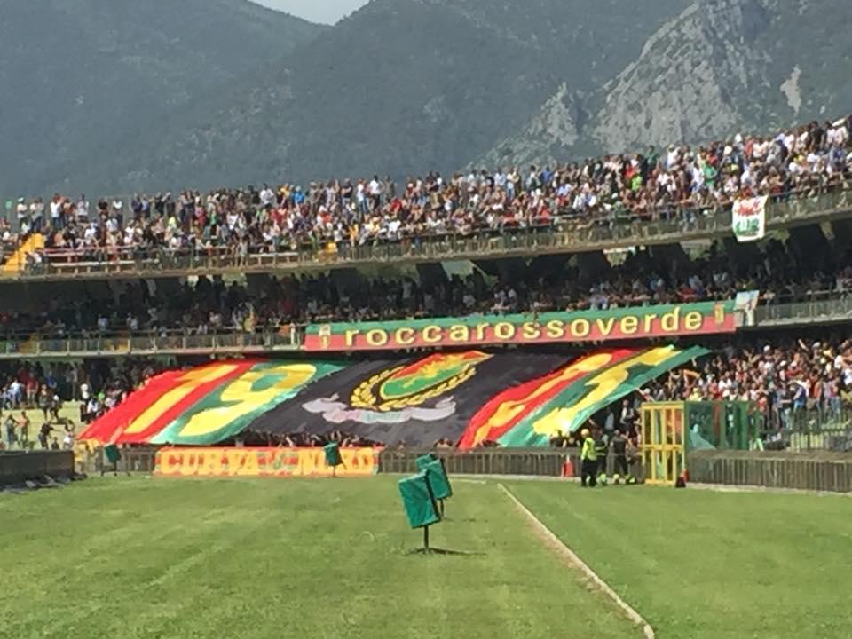 Stadio Libero Liberati (Foto dalla pagina FB Hic Svnt Ferae)