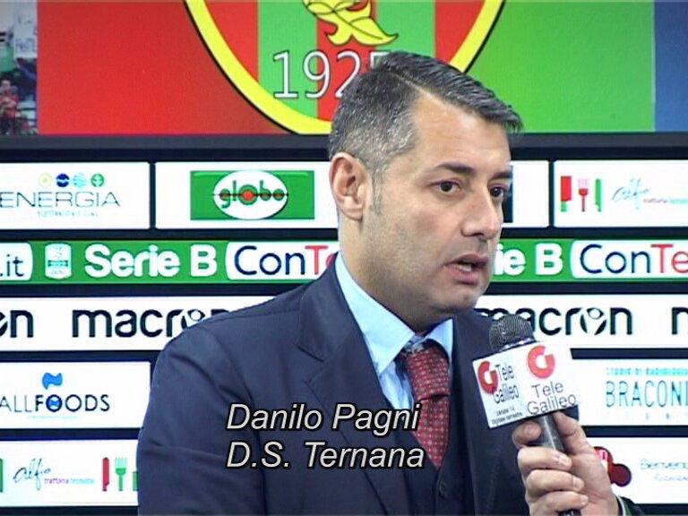 Danilo Pagni, DS della Ternana Calcio (Foto di telegalileo.it)