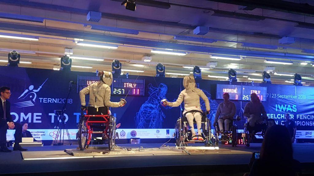 Campionato Europeo Paralimpico 2018 (Foto di: Radioincontroterni.it)