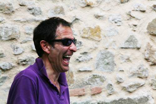 Marco Solari, proprietario e Cicerone di Scarzuola (Foto di creativamenteblog.com)