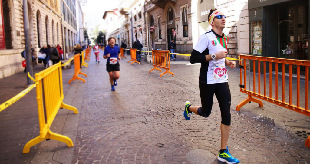 Andrea Turrini della Ternana Marathon (Foto di Nunzio Foti)
