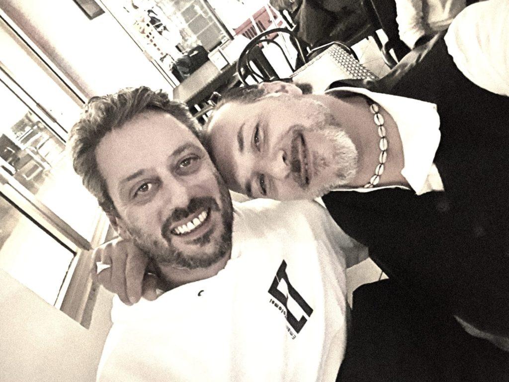 Emanuele Tolomei e Massimo Santafè